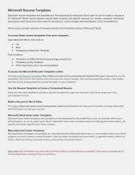 11 Microsoft Word Executive Resume Resume Information
