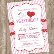 Valentines Day Invitations Beauteous Something New Valentine's Day Baby Shower Invitations Modern