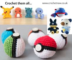 Free Pokemon Crochet Patterns