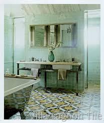 italian antique tile bathroom floor for larger image