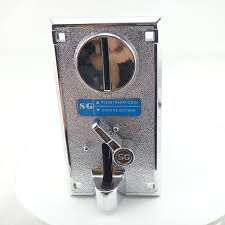 Vending Machine Coin Slot Inspiration Plastic Front Panel Input Advanced CPU Coin Acceptor Acceptor Coin