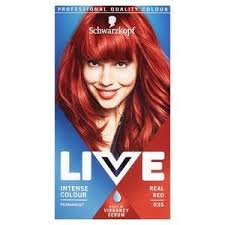 Live Intense Colour 035 Real Red Hair Dye