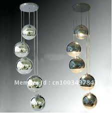 good mirror ball chandelier for free plated glass living room pendant lamp mirror ball 41 mirror