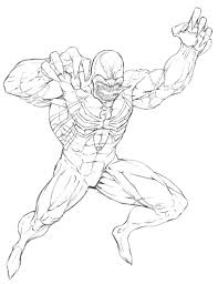 Free Coloring Pages Of Venom Agent Venom Coloring Pages Venom ...