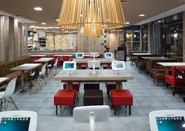 mcdonald s c architects guildford surrey mcdonald s 2 broadstairs 0725 int lamp view c7 architects