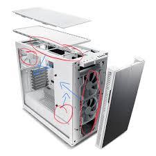 Fractal Design R6 Case Fans Setting Up Fans In The Define R6 Air Cooling Linus Tech