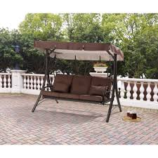 patio swing converts to bed designs
