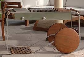 beltempo outdoor furniture barbecue Modern Outdoor Furniture from Beltempo  wood and metal contemporary design