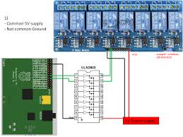 raspberry pi • view topic having a 8 channels relay working image