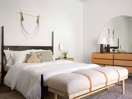 the bed is decked out with parachute bedding plus a fiber bed down alternative mattress pad a down alternative duvet and pillows