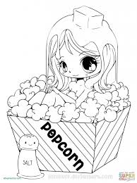 Cute Girl Coloring Pages Beautiful Cute Anime Chibi Girl Coloring