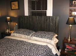 wooden headboards brilliant elegant rustic headboard ideas 4 5 be black regarding wood for queen