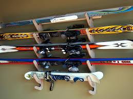 easy diy ski storage