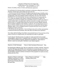 Release Of Liability Form Sample Coupon Layouts