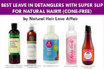 Top 5 leave in hair conditioners