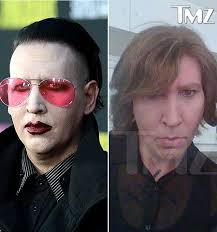 marilyn manson unrecognizable without makeup on eastbound and down set us weekly