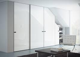 Sloped Ceiling Bedroom Wardrobe With Sloping Ceiling Sliding Doors Furniture