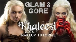 game of thrones khaleesi daenerys targaryen makeup look tutorial you