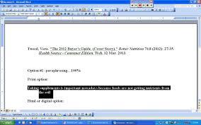 mla format writing option % paraphrasing and citation mla format writing option 1 100% paraphrasing and citation