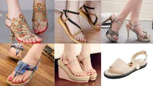 Latest Footwear Design Awesome Sandals Design Latest Ladies Fancy Sandals