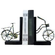Books On Bicycle Design Amazon Com Xg Inc Bicycle Bookend Retro Resin Retro Painted