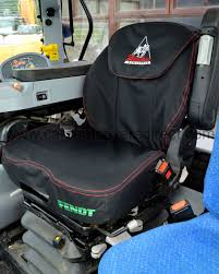 fully tailored extra heavy duty fendt selross tractor seat covers for grammar seat