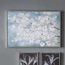 modern cherry blossom framed art on italian wall art uk with contemporary wall art home accessories modern furniture
