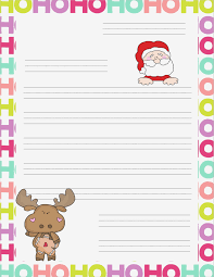 Dear Santa Letter Template Free Santa Letter Pdf Goal