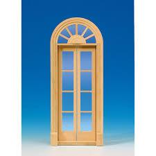 palladio door with glass panes