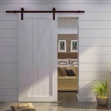 Hanging Sliding Door Kit Indoor Barn Doors Hardware To Hang A Diy Wood Barn Door Using