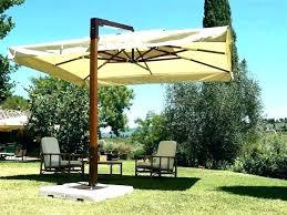rectangular cantilever umbrella rectangular ever umbrella ing the right patio for your garden backyard outdoor umbrellas