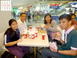 Simple Family Just Passing Thru Food And Movies Equal Simple Family Fun Time