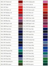 Bs To Ral Conversion Chart Ral 7044 Silk Grey Ral 7045 Tele Grey 1 Ral 7046 Tele Grey