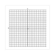 Coordinate Graph Math Graph Paper Stickers Accentuated Axis