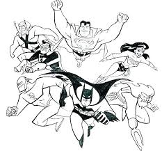 Young Justice Printable Coloring Pages Coloring Page Dc Comics Super ...