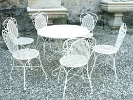 white wrought iron garden furniture. Unique White Home Trends Patio Furniture Restoring Chairs Wrought Iron Outdoor  All Cast Bistro Set White  And Garden R