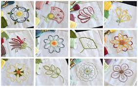 Free Hand Embroidery Patterns Adorable Free Hand Embroidery Pattern Bloomin' Marvelous 48 Flower