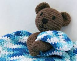 Free Crochet Lovey Pattern Stunning Crochet Baby Boy Blanket Teddy Bear Blanket Baby Shower