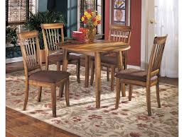 Ashley Furniture Kitchen Table Ashley Furniture Berringer Hickory Stained Hardwood Round Drop