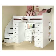 desk loft bunk beds with stairs and storage loft beds with storage and desk loft