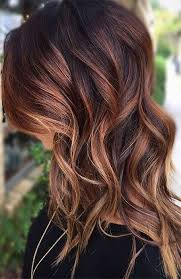 25 y black hair with highlights for