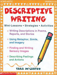 sample descriptive writing tasks descriptive writing descriptive writing provides an illustration of people places events situations thoughts and feelings this resource will help you