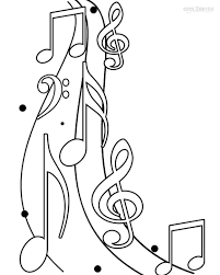Small Picture Printable Music Note Coloring Pages For Kids Cool2bKids