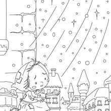 Small Picture The little match girl coloring pages Hellokidscom
