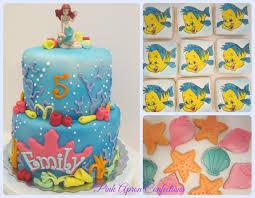 Ariel Cake Decorations Little Mermaid Cake Cake Designs Ideas