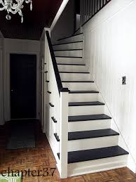 all that white paint just bounces light around and makes it so much brighter we installed a light directly above the stairs shortly after moving in even