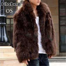 2018 whole c 2017 winter 2018 mens faux fur coat thick warm jackets full length parka fox fur coats plus size 3xl men overcoat from hongzhang