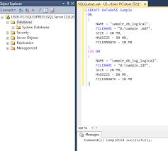 sql sample ms sql database a table sql sample screenshot 1