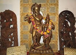 060 bronze temple statue of krishna and radha from the area of vrindavana india camel bone carvings from rajasthan