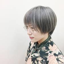 シルバー 白髪染め ハイトーン モード電髪倶楽部street 後藤菜々